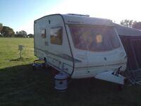 2002 Abbey GTS Vogue 215 2 berth Touring Caravan