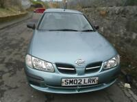 NISSAN ALMERA 1.5 E 5dr MOT DECEMBER 2018 TRADE IN TO CLEAR. A GOOD DRIVING CAR 500 (grey) 2002