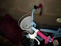Girls 16inch cherry lane bicycle