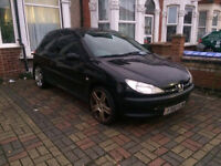 2001 PEUGEOT 206 - HPI CLEAR - PERFECT FOR NEW DRIVERS & LADY DRIVERS - £300 NO OFFERS - 07930222202