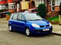 Renault Scenic 1.6 With Mot & Service History, Low Mileage, Only 1 Former Keeper, Cheap 4 Insurance