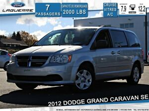 2012 Dodge Grand Caravan SE**STOW N'GO*7 PLACES*A/C*CRUISE**