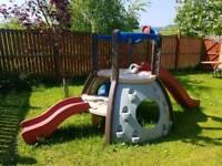 Little Tikes Double Decker Super Slide and Climbing Frame