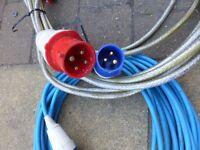 """ 25 metre Electric Hook up Leads £12 Each"
