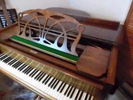 art deco baby grand piano by max adolphe