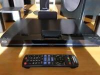 Panasonic sa-bt330 blu-ray with wireless rear speakers and ipod dock