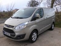 2015 FORD TRANSIT CUSTOM VAN 2.2 TDCI 125 BHP 270 LIMITED L1 H1 SWB AIR CON