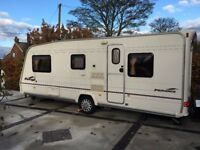 BAILEY PAGEANT PROVENCE - 2005 - 5 BERTH TOURING CARAVAN WITH AWNING