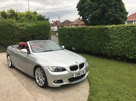 "BMW 325i M sport 2010 Cabriolet 19"" refurbed alloys with 4 brand new tyres"