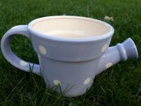 9 Ceramic tea pot flower containers/pots