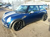 MINI COOPER 1.6 53 REG 3DR ALLOYS LEATHER
