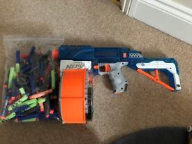 Nerf Gun Retilator + Extra Nerf Bullets