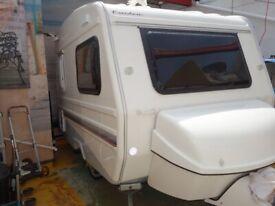 2015 Lightweight, small two berth caravan