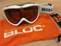 BLOC ski goggles - never been used
