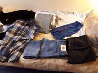 Wholesale £10!Just collect more then 15 men's clothes very cheap!Everything in good quality&conditon