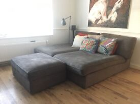 2x Ikea Kivik Chaise Loungers. Brilliantly comfortable and in great condition.