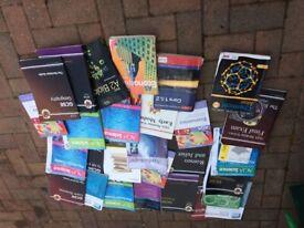 GCSE books joblot used