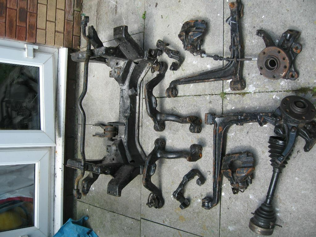 Vw T4 Front Supension Arms Amp Caliper Amp Subframe Amp Gearbox