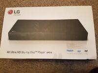 LG UP970 4K Ultra HD Blu Ray Player
