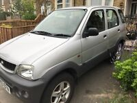 53 plate daihatsu terios, 6 months MOT, excellent condition, leather interior