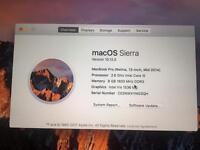 """MacBook Pro 13"""" mid 2014 model"""