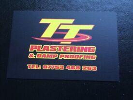 TT PLASTERING & DAMP PROOFING Will beat any price