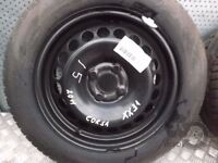 Vauxhall Corsa (2006-2014) Single Steel Spare Wheel 185/65 R15 ref.XX31/5