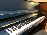 1988 Fazer 109 in 'Trafalgar Blue' Modern Upright Piano FREE DELIVERY & WARRANTY