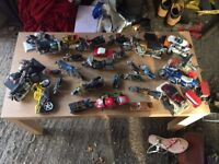 Various Collectable motorbikes