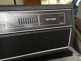 Ampeg SVT 350 with flight case
