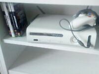 Xbox 360 with Wireless adapter £50