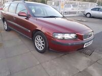 2000 VOLVO V70 ESTATE 2.4..7 SEATER..QUICK SALE