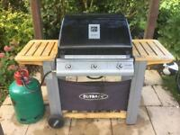 Outback BBQ with Full 13kg Gass Cylinder and Cover
