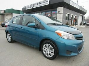2014 Toyota Yaris LE (No accidents,A/C, Power group, 5 speed, Bl