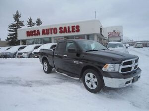 2014 RAM 1500 Quad Cab  SLT BLUETOOTH HEMI LOW KM NO ACCIDE