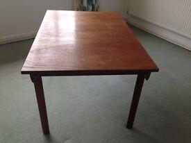 Mid Century Teak Dining Table.
