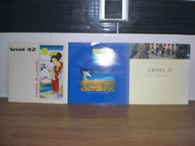 THREE LEVEL 42 VINYL 45 rpm IN ORIG SLEEVE-CHILD SAY-HEAVEN IN MY HANDS-TAKE A LOOK