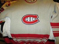 Guy Lafleur Autographed Montreal Canadiens Wool Hockey Jersey