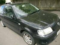 Vw polo 1.4 16v (engine great condition - but gearbox is gone, nondriveable)