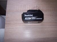 "GENUINE MAKITA 18V BATTERIES 3 amp 4 amp 5 amp STAR MARKED WITH FUEL GAUGE ""NEW"""