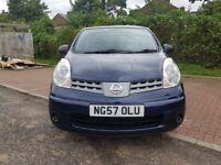 2007 Nissan Note 1.4 16v Visia 5dr Manual @07445775115