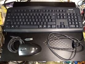 Keyboard and Mouse Sets Mostly Microsoft and Dell so very high quality