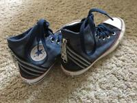 New original Converse jeans shoes, size 3