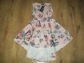Boohoo Skater Dress Size 8 BNWT