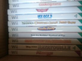 various wii games all used but all tested and still working from £2 each great for kids