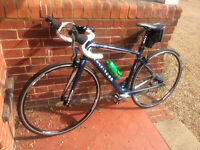 Carbon Fibre road bike 2013 Giant Defy Composite 3 (blue/white/silver) one owner, hardly used