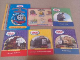 Thomas & Friends books and new card game + Chuggington puzzle Great for a train fan