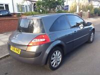 2006 DIESEL Renault Megane Extreme 1.5 DCI **£30 YEAR ROAD TAX** 12 MONTH MOT FSH 65 MPG MP3 STEREO