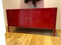 IKEA PS Cabinet Red 119x63 cm with Keys *Quick Sale*