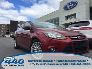 2013 Ford Focus Titanium  * Cuir, Toit, Navigation *